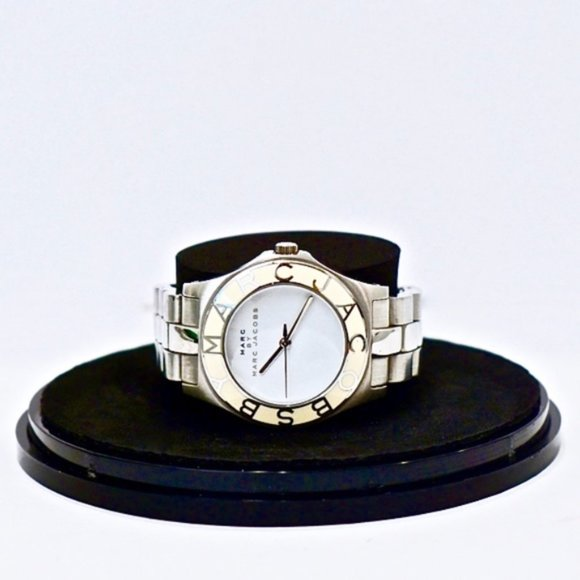 Marc by Marc Jacobs MBM3048 Blade White Dial Watch